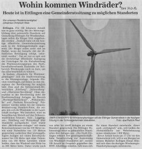 Artikel in der BNN vom 25.07.2012