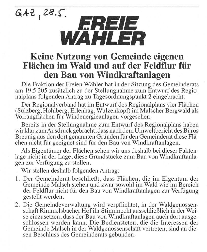 Freie-Waehler-GAZ-28-5-15