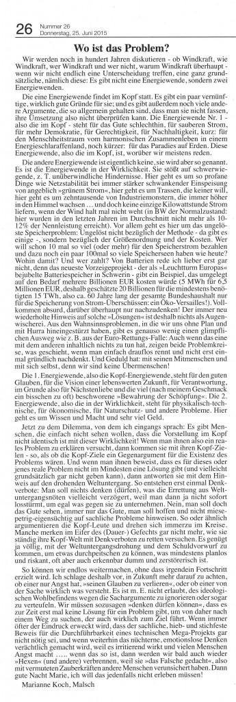 Koch-leserbrief