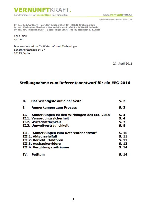 VERNUNFTKRAFT.-Stellungnahme-zum-Referentenentwurf-EEG-2016-2