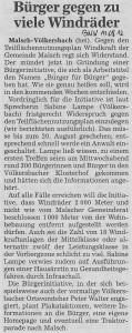 Artikel in der BNN vom 11.08.2012